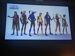 young justice sdcc 2017 new designs for young justice 3 aka young justice