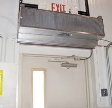 extra high door air curtains