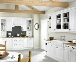 Fitted Kitchen Design Endearing White Fitted Kitchen Come With White Wooden Kitchen