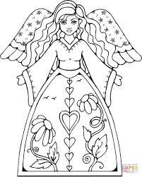 angel coloring pages shimosoku biz