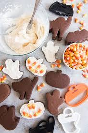 Halloween Pumpkin Sugar Cookies - chocolate cut out sugar cookies choctoberfest house of nash eats