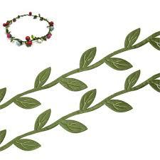 leaf ribbon fabric leaf garland ribbon trim green 23mm7 8 10 m 2015 new