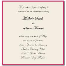 formal wedding invitation wording templates printable sles of formal wedding invitations with