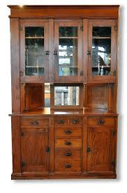 built in china cabinet designs pass through built in buffet cabinet craftsman arts crafts