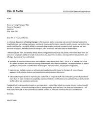 human resources cover letter recruiter cover letter examples for