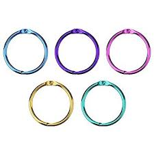 metal binder rings images Outus loose leaf binder rings metal book rings 1 inch jpg