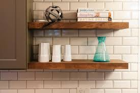 Wood Kitchen Shelves by Wall Mount Shelves Good Storage To Perfect Your Living Room