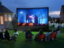 Backyard Movie Party by Mosquito Hunters