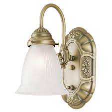 Brass Sconces Brass Sconces Bathroom Lighting The Home Depot