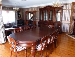Dining Room Contemporary Dining Room Design With Round Mahogany - Mahogany dining room sets