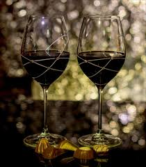 Beautiful Wine Glasses The Galaxy Spirals Glasses For Bordeaux Red Wine Set Of 2