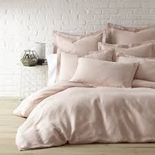 King Linen Comforter Amazon Com Washed Linen Blush King Duvet Cover Home U0026 Kitchen