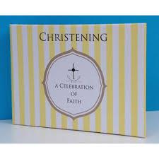 Christening Photo Album Christening Baby Brag Book Baptism Baby Photo Album