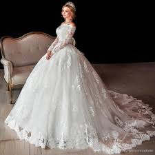 lace wedding dress with sleeves luxury sleeve lace wedding dresses shoulder