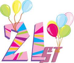 21 happy birthday ory roberts it u0027s the big 21 on january 29