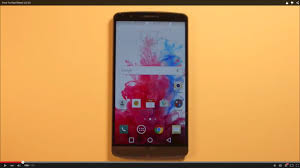 how to hard reset lg g3 youtube