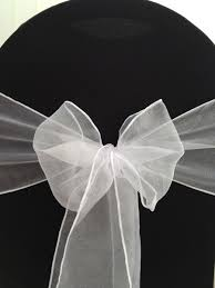 Organza Sashes Hire Organza Sashes Deans Chair Covers Northamptonshire