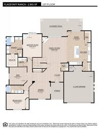 Floor Plan Elevations by 2963 Miramonte Homes