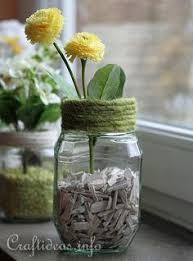 Florist Vases Ways To Reuse Florist Vases Craftastic Pinterest Reuse