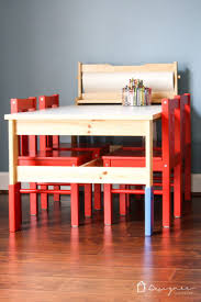 ikea childrens table ikea kids u0027 table and chairs makeover designer trapped in a