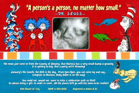 dr seuss baby shower invitations dr seuss baby shower invitation primary colors