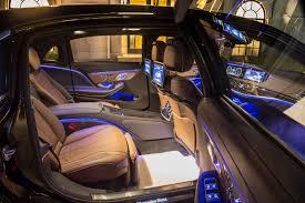inside maybach 2018 mercedes maybach s650 sedan gets amg u0027s big torquey twelve