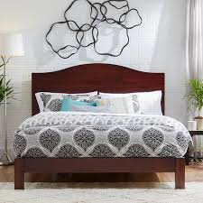 Contemporary Platform Bed Frame Latitude Run Yeala Contemporary Platform Bed Reviews Wayfair
