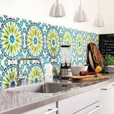 kitchen backsplash wallpaper getting the best kitchen backsplash the diy way hometone