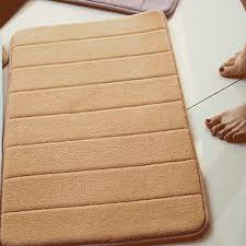 Memory Foam Rugs For Bathroom 13 Colors Thickened Coral Velvet Memory Foam Rug Bathroom Mat Soft