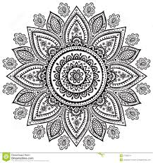 beautiful indian floral ornament stock images image 37798274
