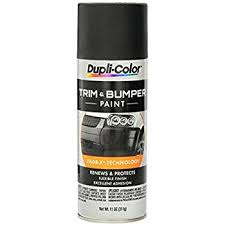 amazon com dupli color tb101 trim and bumper paint 11 fl oz