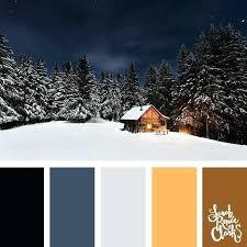 winter color schemes cold color palette step 3 establish a color scheme popular color