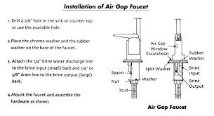 Air In Kitchen Faucet Kitchen Faucet Air Gap Kolonline Co