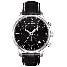tissot watches leather bracelet images Shop tissot men 39 s 39 tradition 39 leather strap chronograph watch jpg