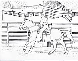 types of sports coloring pages for kids horse riding coloring
