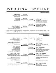 Templates For Wedding Programs Wedding Agenda Sample Day Of Wedding Schedule Great Tips For