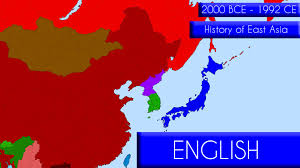 Map Of Eastern Asia by History Of East Asia 4000 Years Youtube