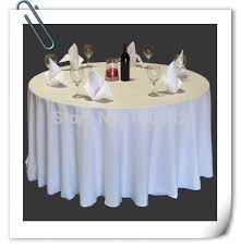 cheap white table linens in bulk factory price wholesale cheap polyester table cloths 70 round