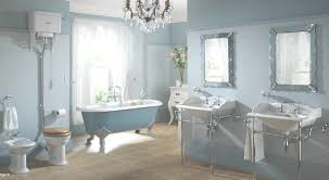 nice eggshell modern bathroom design features snow glossy oval