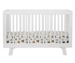 Babyletto Hudson Convertible Crib Babyletto Hudson 3 In 1 Convertible Crib W Toddler Rail White