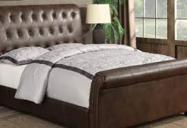 Upholstered Sleigh Bed Innsbruk King Size Upholstered Sleigh Bed