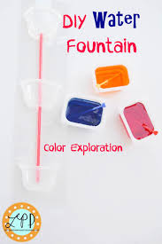What Is Orange Flower Water - water fountain color mixing kid activity