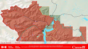 Bc Wildfire Act Regulations by Waterton Lakes National Park Closes Area To Visitors And Traffic