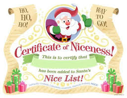 holiday certificate templates perfect format samples of gift