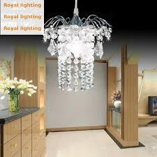entrance single small crystal pendant lights hanging lustre
