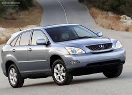 lexus rx300 tires compare prices reviews lexus rx specs 2004 2005 2006 2007 2008 autoevolution