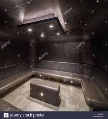 steam room in the spa norwegian cruise ship u2013 the escape stock