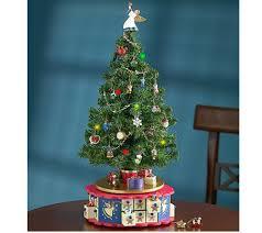 Mr Christmas Ornament - mr christmas advent musical tree by 1 800 flowers u2014 qvc com