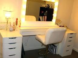 Bedroom Mirror Lights Makeup Mirror Lights Vanity Table Bedroom Medium Size Of With For