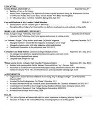 Scannable Resume Template Assistant Buyer Resume Sample Http Exampleresumecv Org